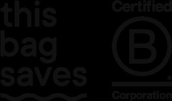 This Bag Saves and Plastic Bank Logo