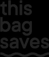 This bag saves Logo